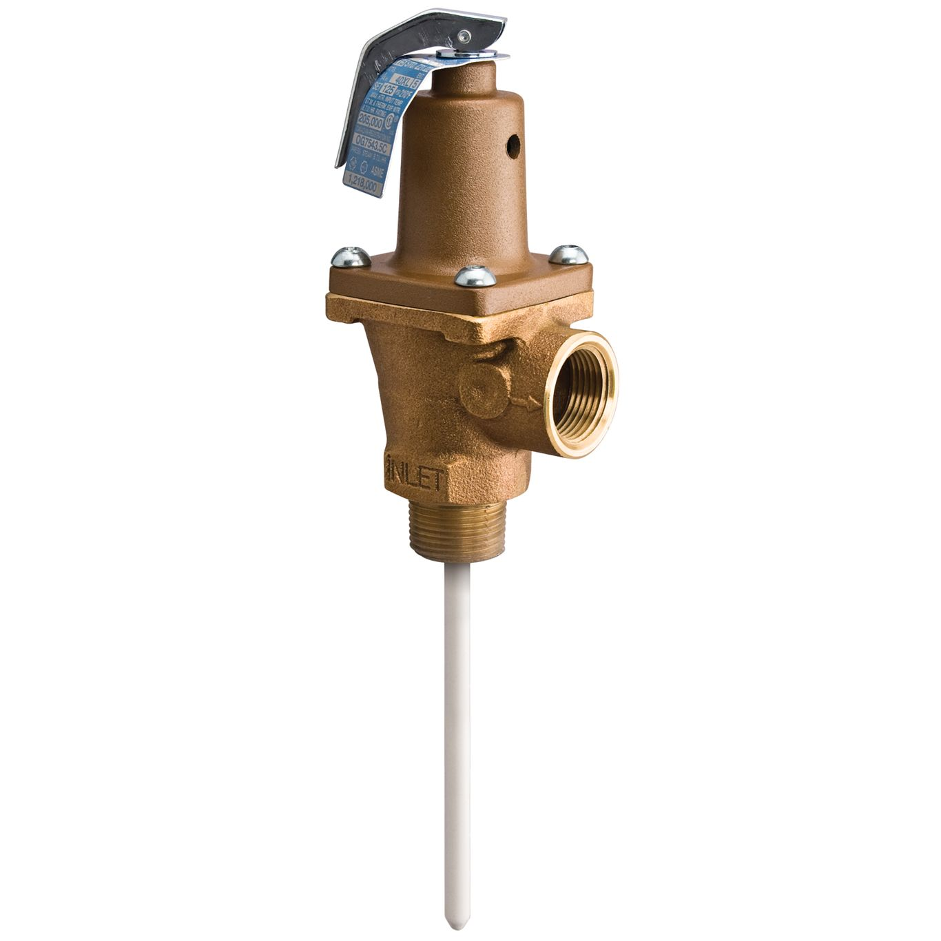 LEAD FREE 1 IN. WATTS TEMPERATURE AND PRESSURE RELIEF VALVE 140XL-7