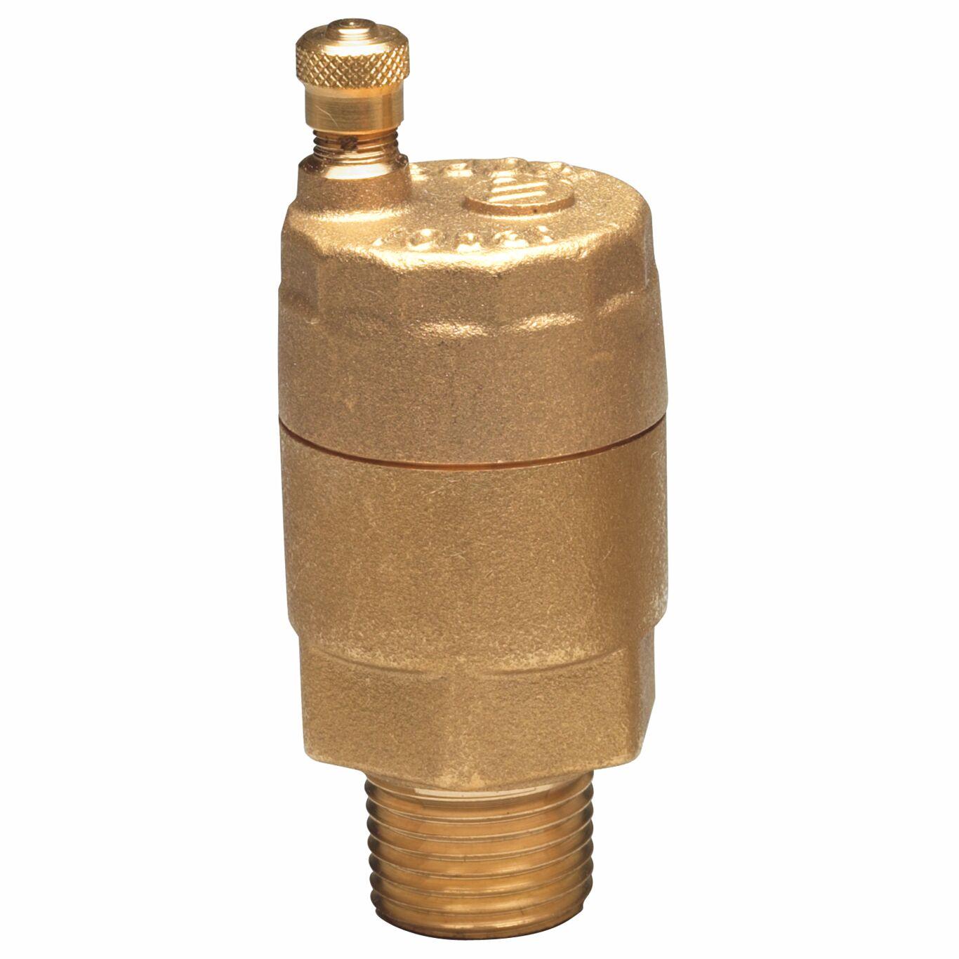 "Brass Radiator Bleeder Valve Male Thread 1//4/"" BSP Manual air vent bleed 1//4 MI"