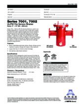Specification Sheet - 7002