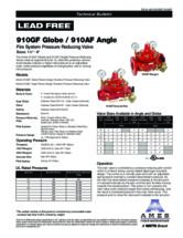Specification Sheet - 910AF