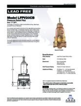 Specification Sheet - LFPV20CB