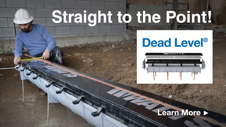 Dead Level Trench Drains