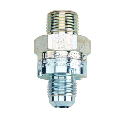 Dormont 90-1021R Male Adapter Fitting 3//8 in Outlet Diameter Brass Gas Flare 1 pack