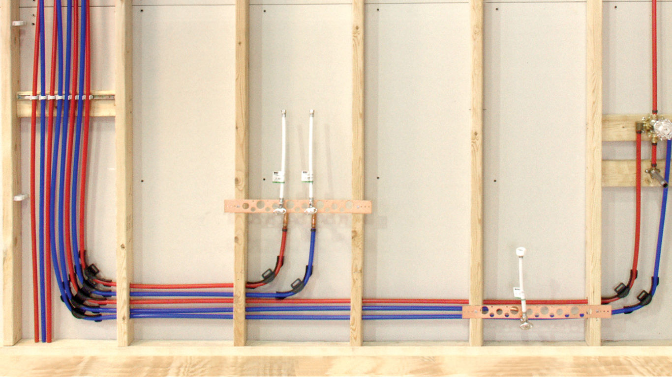 Pex Plumbing Radiant Heating Systems Floor Heat Piping Diagram Together With Storage Heater Wiring We Offer Complete For Both Potable And Including Tubing Manifolds Fittings Other Accessories