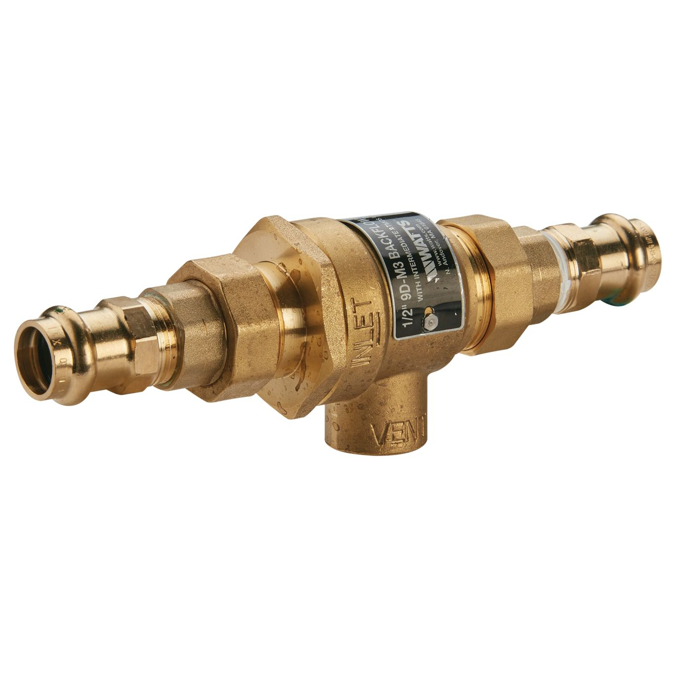 WATTS HAV 1//4 Automatic Vent For Hot Water,1//4In,Brass